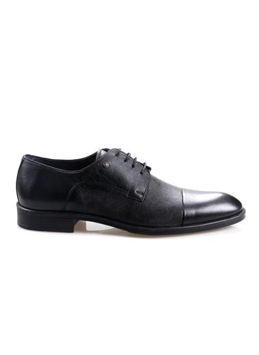 Smart Smart 2513 Siyah Erkek (39-44) Deri Klasik Ayakkabı Siyah